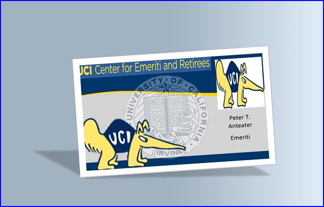 Continuing UCI Email Access Form & Emeriti/Retiree ID Cards