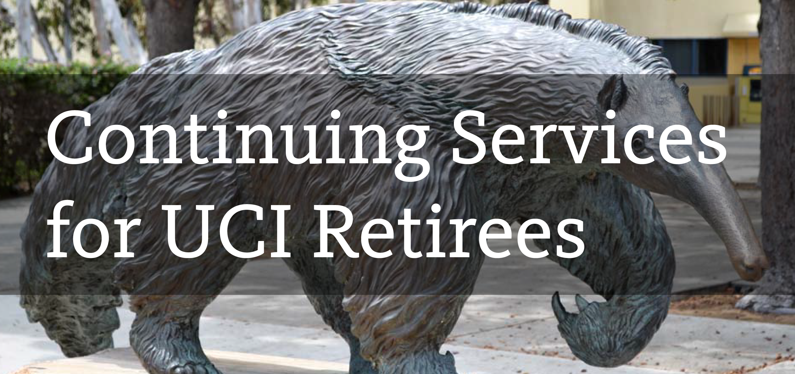 Continuing Services for UCI Retirees