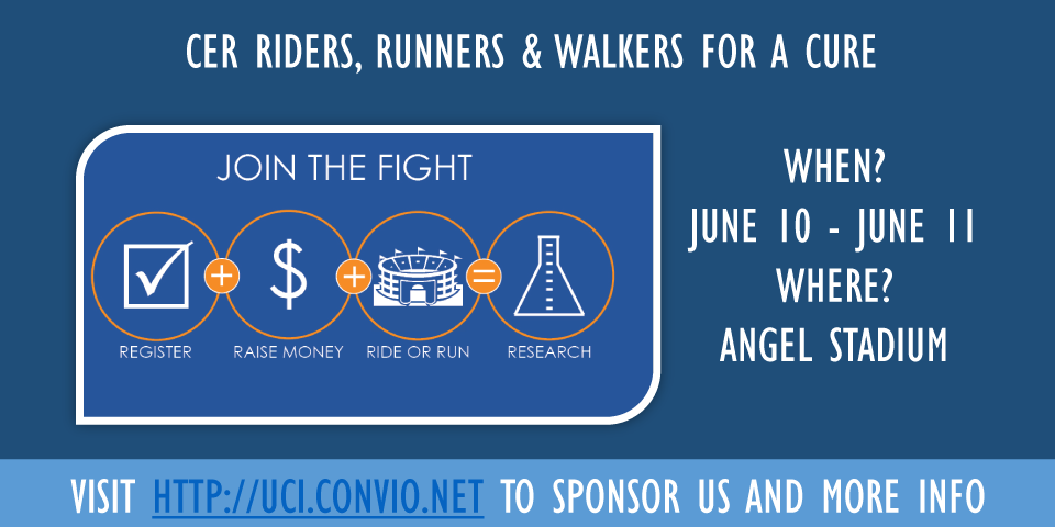 CER Riders, Runners, Walkers for a Cure June 10-11 @ Angel Stadium