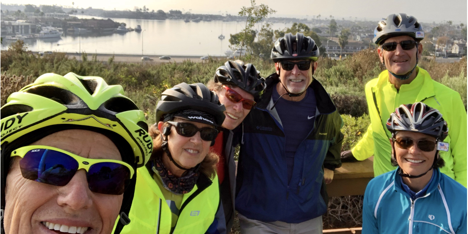 January 14, 2020 - BIKE RIDE Newport Back Bay Loop